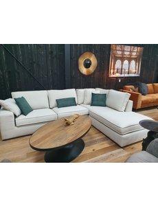Richmond Interiors Bank Quinten 3 zits arm + ottomane * Showroommodel met hoge korting