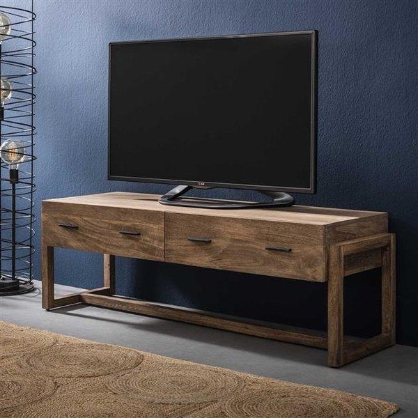 TV-meubel Gobi massief mango met 2 lades
