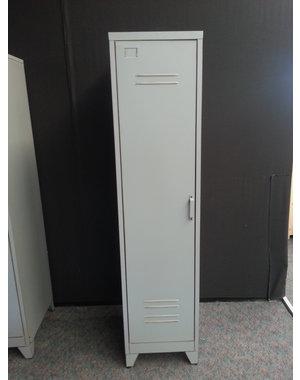 Houten Meubel Outlet Lockerkast Staal 1 deur