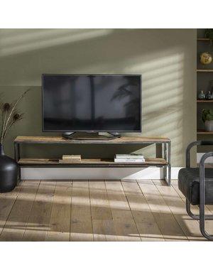 TV-meubel 150x35 hardhout