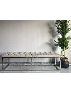 Richmond Interiors Richmond Interiors * Eetbank Margot Khaki velvet * Showroommodel