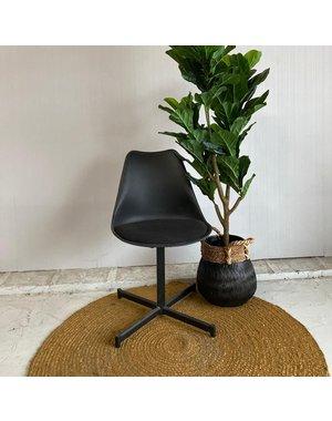 Eettafelstoel Stroom zwart