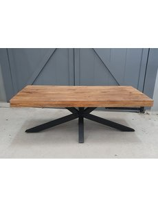 Mango Coffeetable 3+3 top with spider leg