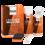 Oranje Leather Care Kit geschuurd leder