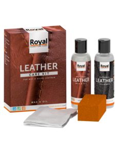 Oranje Leather Care Kit Wax & Oil