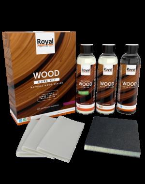 Oranje Natural Wood Sealer - Wood Care Kit