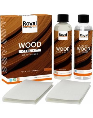 Oranje Wood Care Kit MattPolish+Cleaner 2x250ml