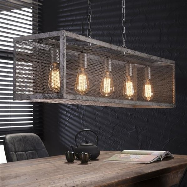 Hanglamp Rechthoek Raster