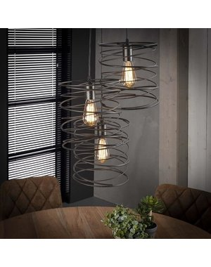 Hanglamp 3x Curl Getrapt