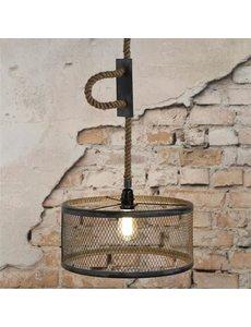 Hanglamp Ø40 Mesh Verstelbaar Touw