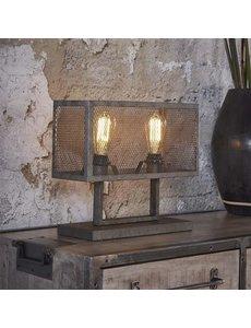 Tafellamp 2L Rechthoek Raster