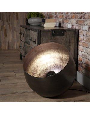 Tafellamp Ø50 basket XL Zwart nikkel