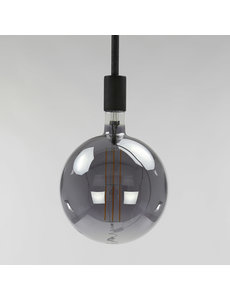 Lichtbron LED filament bol Ø20 0 - E27 8W dimbaar / Smoke grey glas