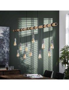 Hanglamp 11L bamboo wikkel