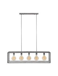 Hanglamp 5L 45 graden buis