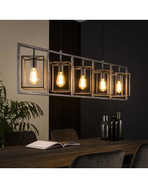 Hanglamp 5L cubic tower