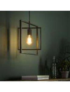 Hanglamp 1L Turn square / Charcoal