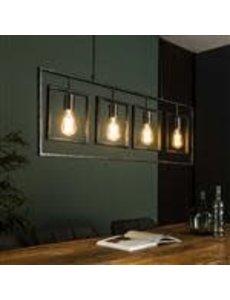 Hanglamp 4L Turn square / Charcoal