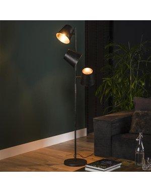 Vloerlamp 3x Kinetic / Charcoal