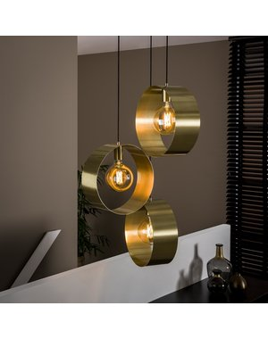 Hanglamp 3L vegas getrapt
