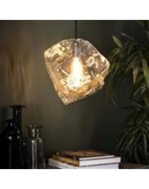 Hanglamp Rock Clear glas