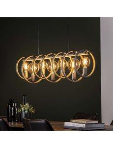 Hanglamp 7L circular Oud Zilver