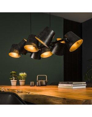Hanglamp 8x Kinetic / Charcoal