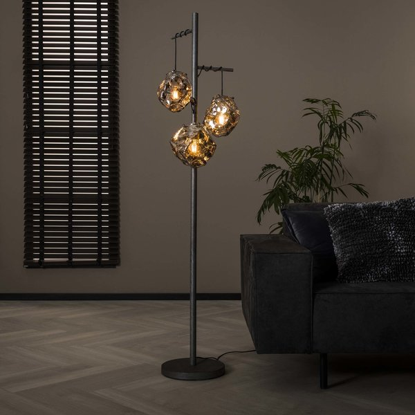 Vloerlamp 3L rock
