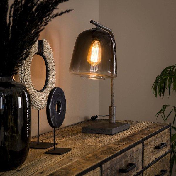 Tafellamp 1L grey shaded