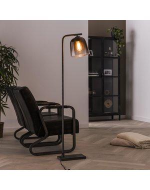 Vloerlamp 1L grey shaded