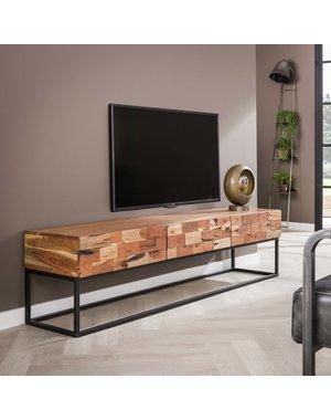 TV-meubel Mill acacia 180 cm  - 3 lades