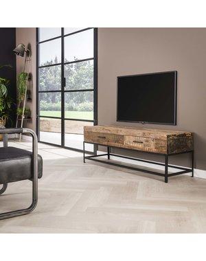 TV-meubel lodge met 2 lades - 135 cm
