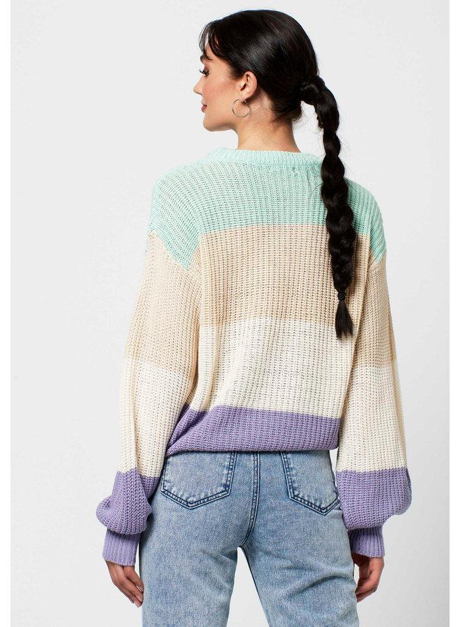 Cindy Striped Knit Rut&Circle