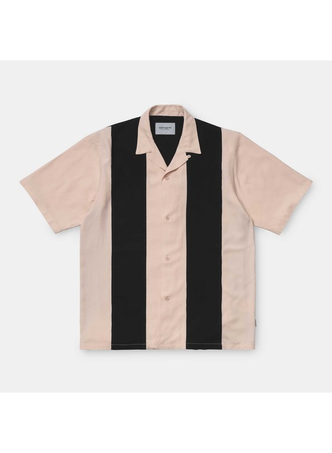 Carhartt WIP - S/S Lane Shirt Powdery/Black