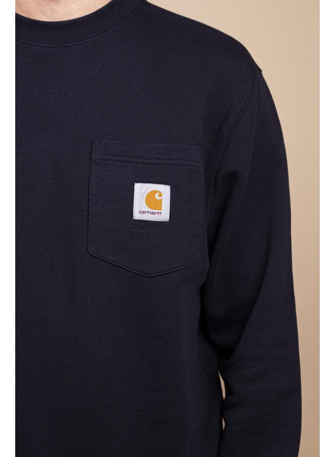 Carhartt WIP - Pocket Sweat Cotton Dark Navy