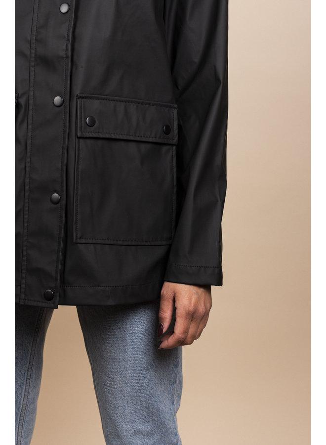 Rain Coat MATT Black