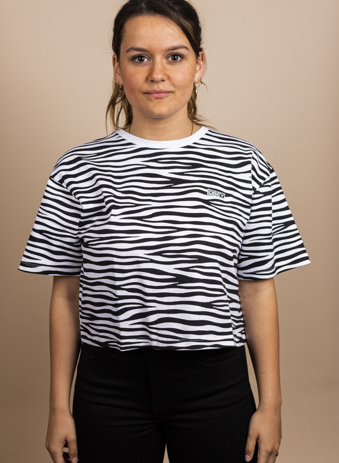 Feisty Cropped Tee Obey