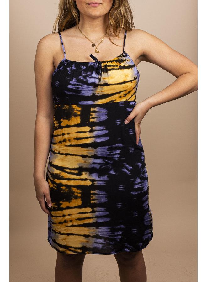 24Colours - Dress Yellow/Purple