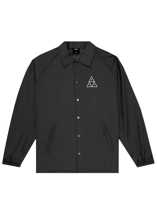 HUF - Essentials TT Coaches Jacket - Black