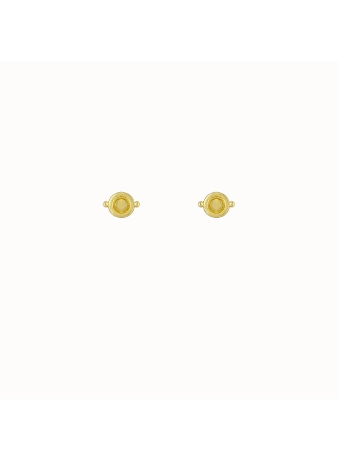 Flawed - Magnolia Studs Gold