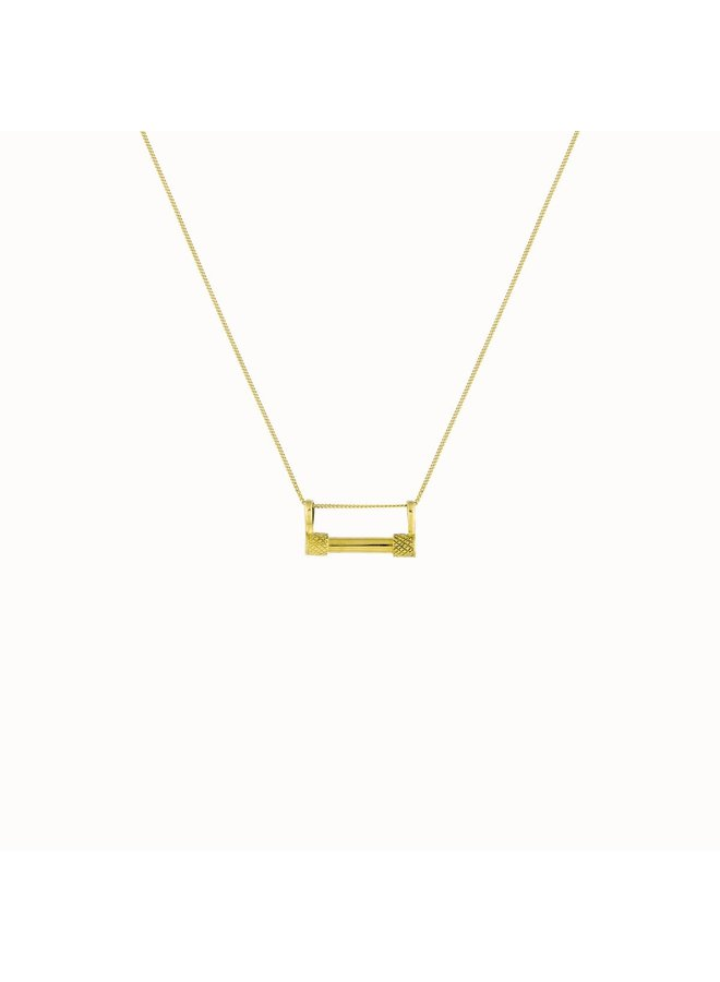 Flawed - Mignonne Necklace Gold