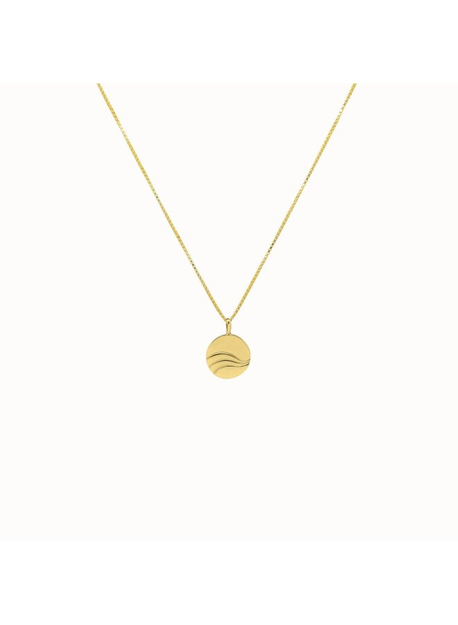 Flawed - Objects Necklace Gold