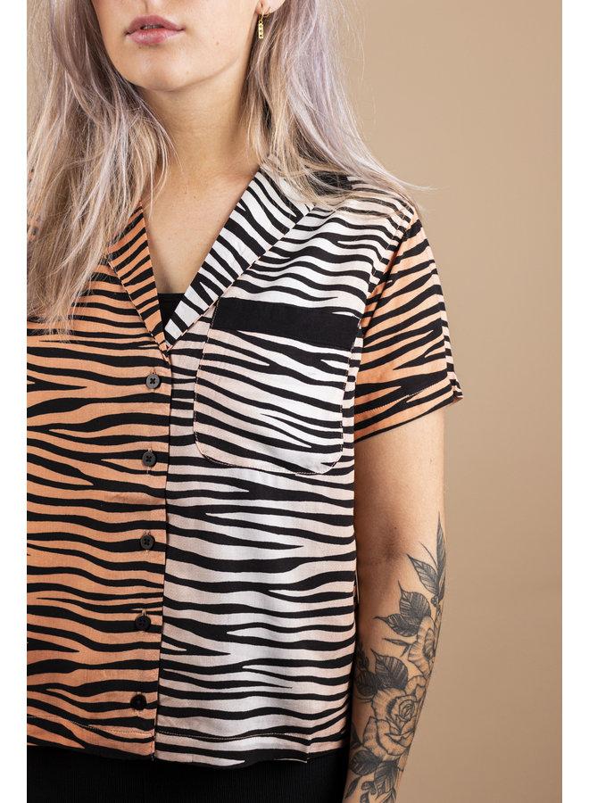 Obey - Kitty Shirt - Apricot Multi
