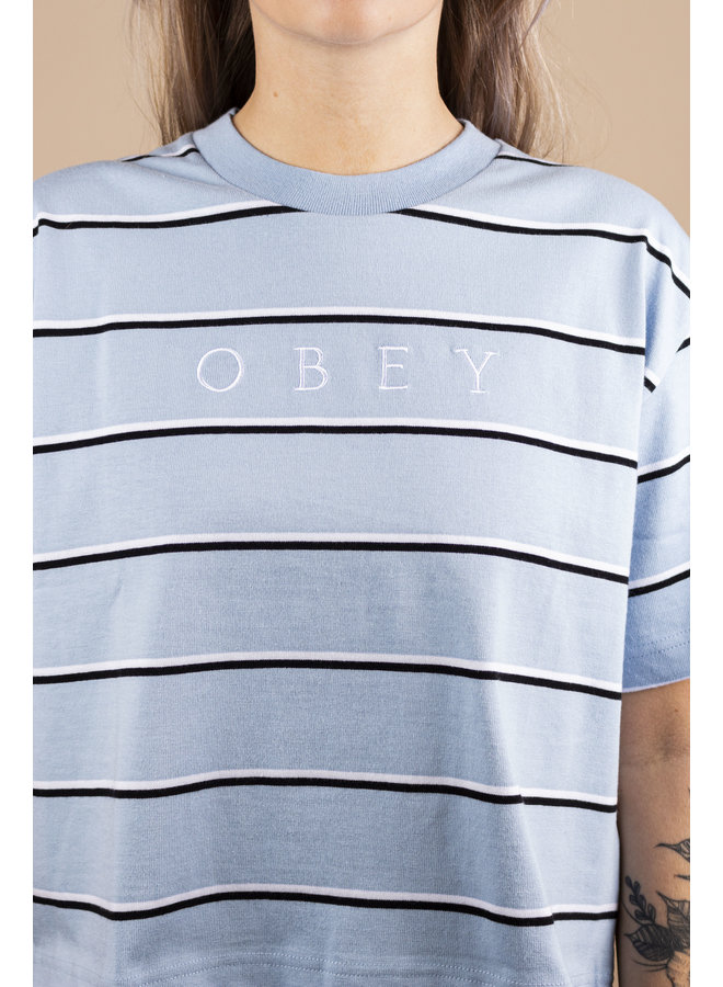 Obey - Ronny Box Tee - Blue Multi