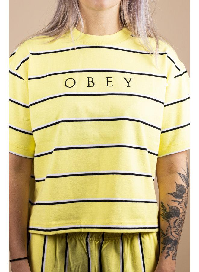 Obey - Ronny Box Tee - Lemon Multi