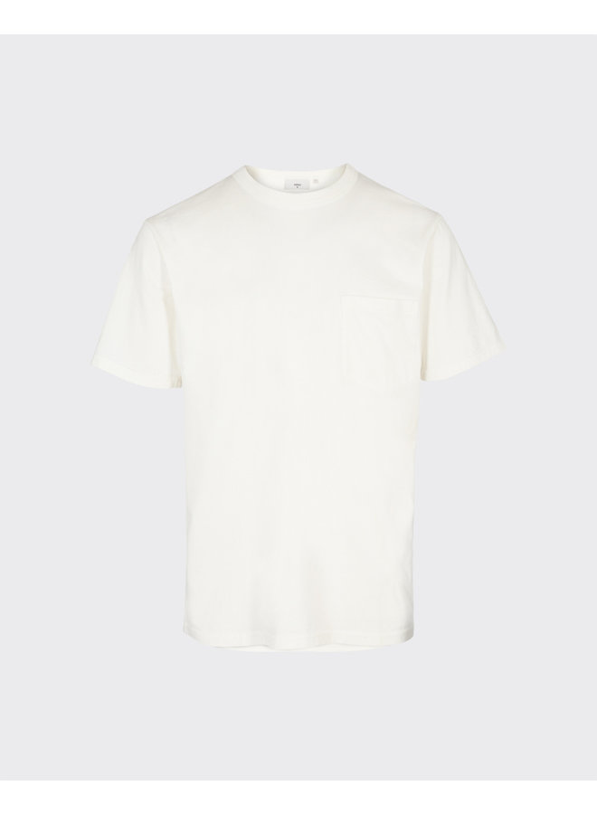 Minimum - Haris T- Shirts - Broken White