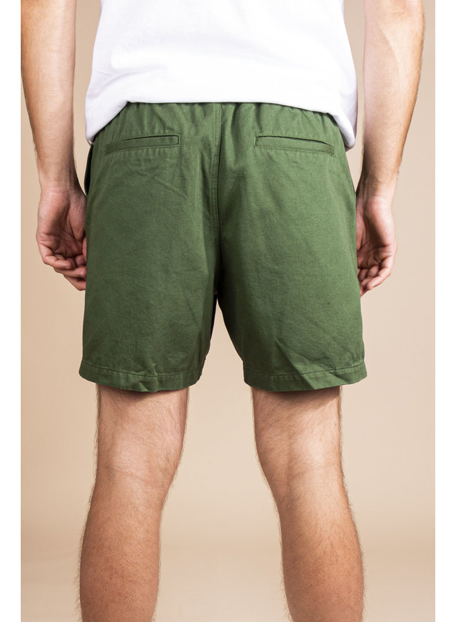 Obey - Easy Relaxed Twill Short - Park Green