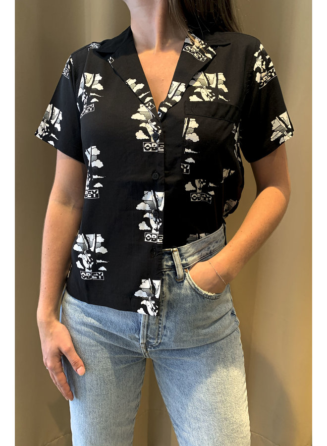 Obey - Peace Shirt - Black Multi