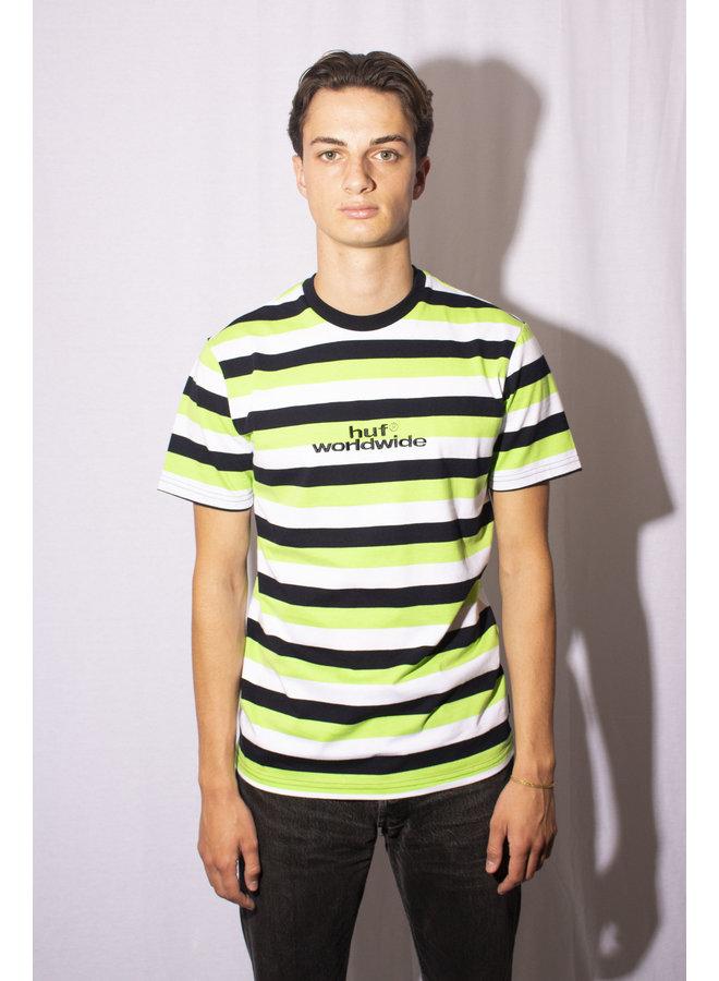 HUF - Cruz S/S Knit Shirt - HUF Green