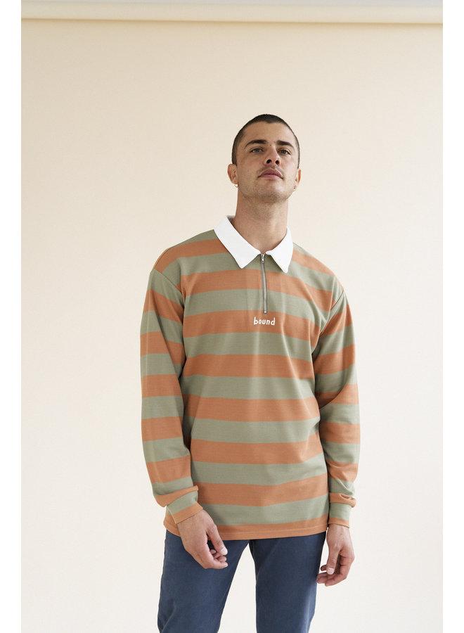 WEAREBOUND - Pique Polo Stripe